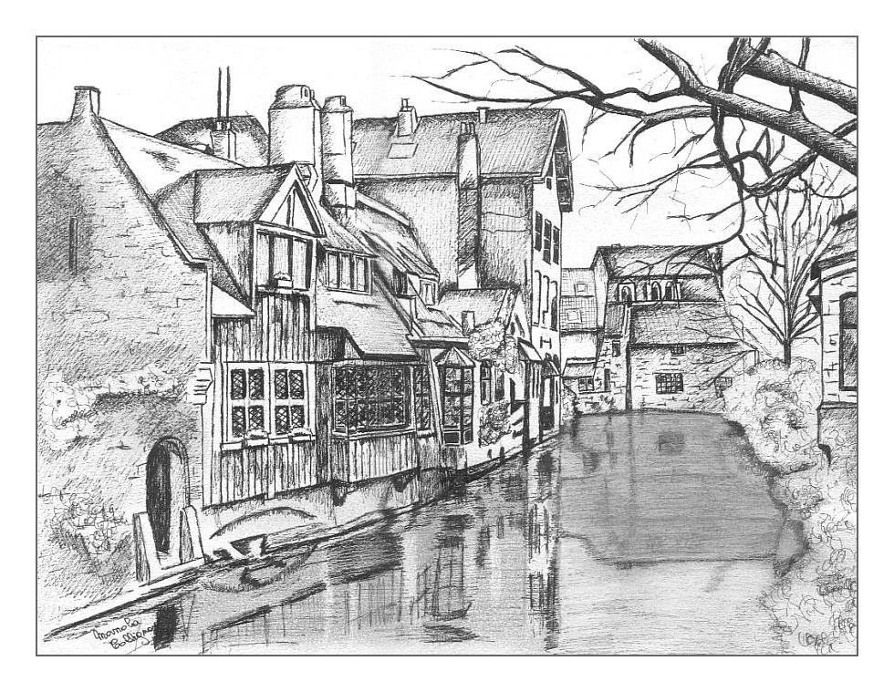 Village dessin netb - Village dessin ...
